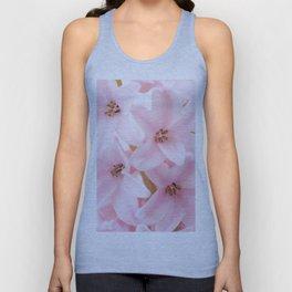 Pink hyacinth Unisex Tank Top