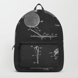Golf Tee 1938 Patent Backpack