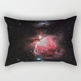 The Great Nebula in Orion Rectangular Pillow