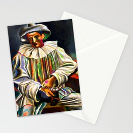 Pablo Picasso Pierrot Stationery Cards