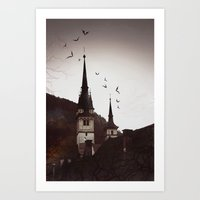 gothic Art Prints featuring Gothic  by Teo Dima