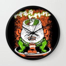 Sumo Sushi Wall Clock