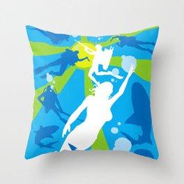 James Bond Golden Era Series :: Thunderball Throw Pillow