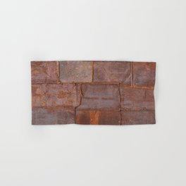 Rusty Metal Grunge Texture Hand & Bath Towel