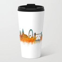 London City Skyline HQ v3 Travel Mug