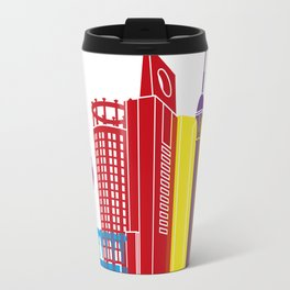 Jeddah skyline pop Travel Mug