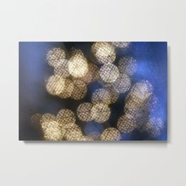 Crystal lights Metal Print