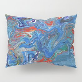 Abstract Oil Painting 21 Pillow Sham