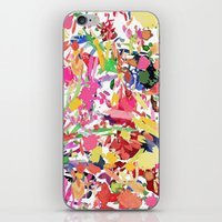kate bishop iPhone & iPod Skins featuring Kate by Caroline Sansone