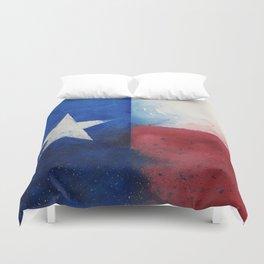 Flag of Texas Duvet Cover