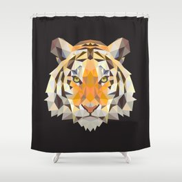 PolyTiger Shower Curtain