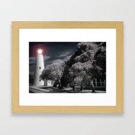 The Night Light Framed Art Print
