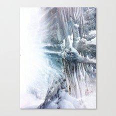 Ice Scape 3 Canvas Print