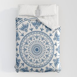 Persian folk Duvet Cover