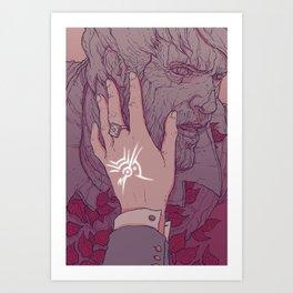 Marked: Emily Kaldwin Art Print