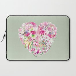 Blush Heart Laptop Sleeve