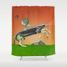 Das automatische Pferd Shower Curtain