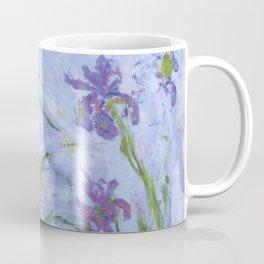"""Claude Monet """"Iris mauves"""" Coffee Mug"""