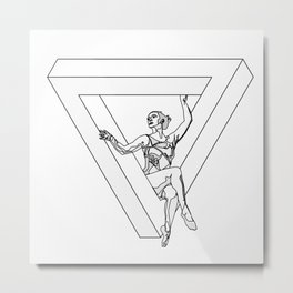The Impossible Apparatus  Metal Print
