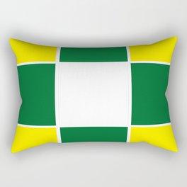 Team Colors 3 .... yellow ,green Rectangular Pillow
