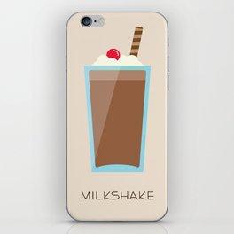 Chocolate Milkshake iPhone Skin