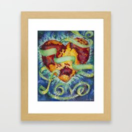 Heal the World Framed Art Print