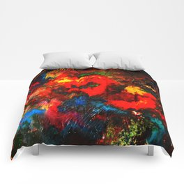 Bold colors  Comforters