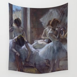 Edgar Degas - Dancers 1884 Wall Tapestry
