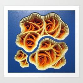Necrotic Radimafungle Movement #3 Art Print