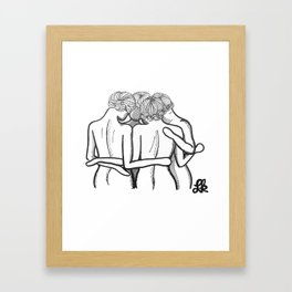 The Prayer Circle Framed Art Print