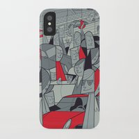 porsche iPhone & iPod Cases featuring Porsche Racing by Ale Giorgini