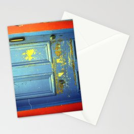 Primary Colors Door Stationery Cards