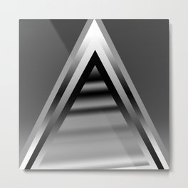 monochromatic triangles Metal Print