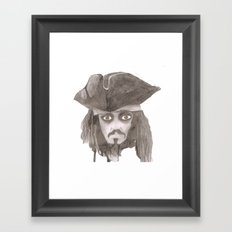 Captain Jack Sparro Framed Art Print