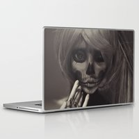 lady Laptop & iPad Skins featuring Lady by Lydia Tausi