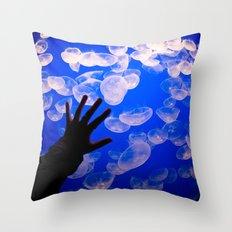 Life Aquatic Throw Pillow