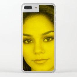 Vanessa Hudgens - Celebrity (Florescent Color Technique) Clear iPhone Case