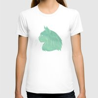 maine T-shirts featuring Maine Coon by Jonathan Hall