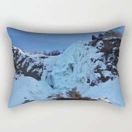 Frozen Waterfall Rectangular Pillow