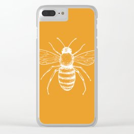 Save the bees! Clear iPhone Case