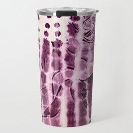 paper and roses Travel Mug