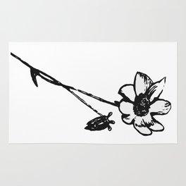 Pencil Flower Rug