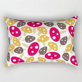 Mod Mushrooms Rectangular Pillow