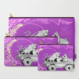 """Debhra's Car"" Carry-All Pouch"