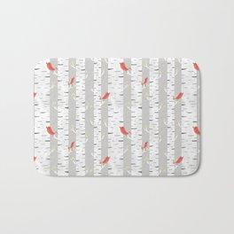 Birch Birds Bath Mat