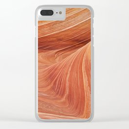 Above The Wave Clear iPhone Case