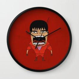 Screaming Kaneda Wall Clock