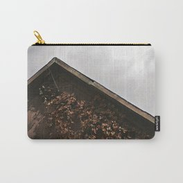 Camouflage - Red Leaves on Barn Carry-All Pouch