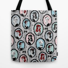 Cameo Dolls Tote Bag