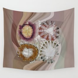 Inexhaustible Spacing Flower  ID:16165-130627-15901 Wall Tapestry